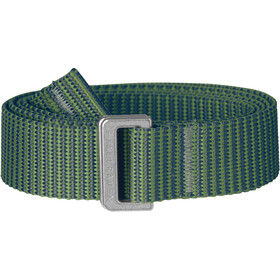 Fjällräven Striped Webbing Belt fern-frost green